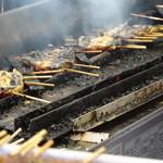 川魚料理 はや幸 - 調理中
