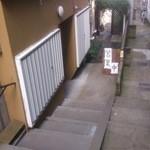 パンプル - 階段を下りた先左手にあります。