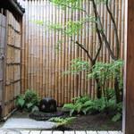 手打ち蕎麦 かね井 - 素敵な中庭 (2013/06)