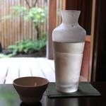 手打ち蕎麦 かね井 - 鷹勇 なかだれ 3本目 (2013/06)