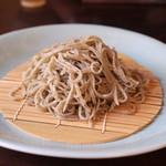 手打ち蕎麦 かね井 - 荒挽きそば (2013/06)