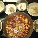 EURO CHINA ミンミン - マーボー豆腐定食