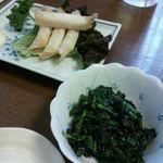 Shinoya - チーズ揚げとほうれんそうの胡麻和え