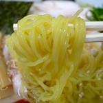 がんこ 八代目 - 冷し塩ラーメン(800円)