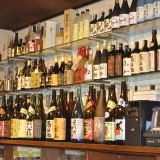 日本酒も多数ご用意!
