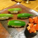 寿し 小椋 - 野菜寿司