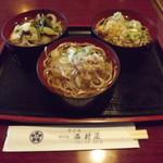 西村屋 - 料理写真:「三色そば」800円