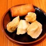 麺王翔記 - 点心3種