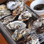ミルキー鉄男のかき小屋 - 料理写真:【広島産】焼きがき