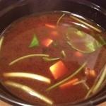 かつ久 - 赤出汁、この味噌汁は素晴らしい