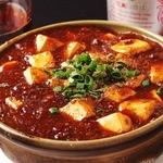 香琳園 - 名物☆麻婆豆腐は、お酒のアテにも♪勿論ご飯にもおススメです☆