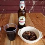 トラットリア・アルモ - 牛肉の煮込みには赤ワインよねぇ