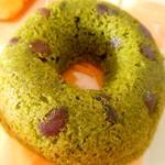アンテレサント ミルフィユ - 焼きドーナツ(抹茶あずき)