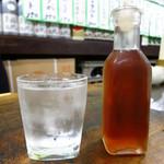 市民酒蔵諸星 - 梅割り