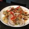 川合鮮魚店 - 料理写真:北海道産白貝の蒸し焼き オリジナル酢ごま油タレかけ