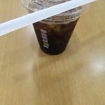 ドトールコーヒーショップ - アイスコーヒーS・200円