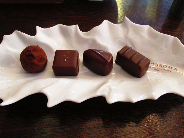 ジェラテリア テオブロマ - チョコレート