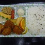 とん平 - 料理写真:唐揚げ弁当 550円