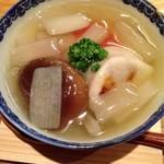 吉い - 2013.07 金目鯛と白子の蒸し物