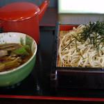 八洲支店 - 料理写真:鴨せいろ~☆