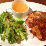 rothisari-chikintowainnomihoudaihamachango-go- - 週替わりランチ(チキンのチーズデミグラスソース)750円