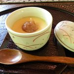 1982100 - 梅茶碗蒸し。