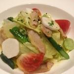 YABU - いろいろ野菜とベーコンのサラダ