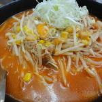 柳家 - キムチ納豆ラーメン