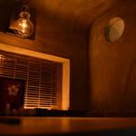 蒸し焼き ぶち - 【ぶち】イチオシの個室。女子会にぜひ利用したい洞窟風