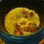 かりほ庵 - 【しじみの釜飯】薄味で優しい味です♪