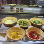 レイクサイドホテル久山 レストラン 湖翠 - 野菜バー