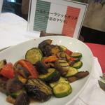 レイクサイドホテル久山 レストラン 湖翠 - 野菜のマリネ
