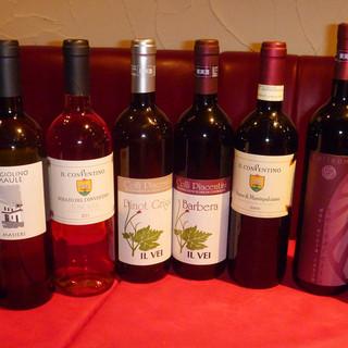 亜硫酸無添加のワインも取り揃えています