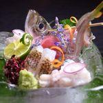 居酒屋 はる坊 - 料理写真:その日に仕入れた鮮度抜群の刺身を豪快に盛り合わせ。その日のオススメの内容になっています。