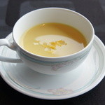 19829326 - ②とうもろこしの冷製スープ