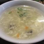 ザ・肉餃子 四川厨房 - スープアップ