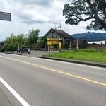 喫茶室モンテビアンカ - 早良街道から那珂川方面への分岐してしばらくすると。