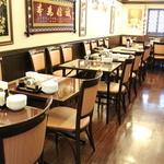 景徳鎮 - 2階の2名~4名のテーブル席