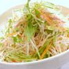 炭火焼肉 ひばち - 料理写真:大根と水菜のサラダ