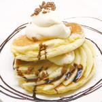 バナナフロマージュパンケーキ(ドリンク付)