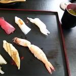まるせい伊勢 - 2013.07 おすし5貫