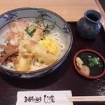 ひさ家 - 田舎うどん(800円)