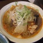 大八 - 豚肉と大根のピリ辛味噌煮
