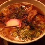 麺どころ いづみ - きしめん大盛(730円)(2014.1)