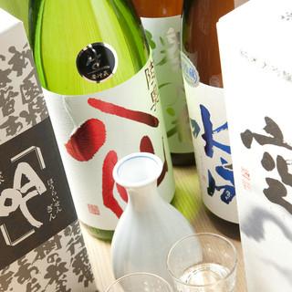 全国各地の絶品銘柄日本酒をご用意してお待ちしております