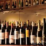 ワインカフェ - 50種類以上のワインをご用意しております。