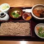 北海道産石臼挽蕎麦 増田屋 - 天丼ランチ