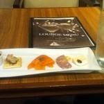 カフェラウンジ ボンアート - 前菜5種盛り ドリンクセット ラムトニック