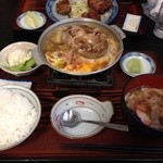 食事処 葵 - 料理写真:和風ハンバーグ♡¥750
