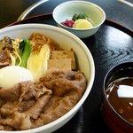 浅草今半 - 料理写真:明治すき焼き丼(ランチ)
